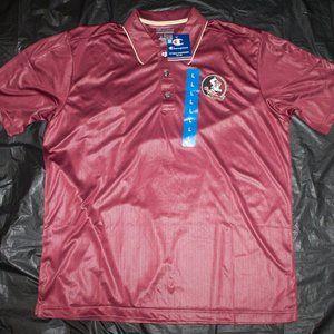 Champion FSU Seminoles Mens Short Sleeve Embroider